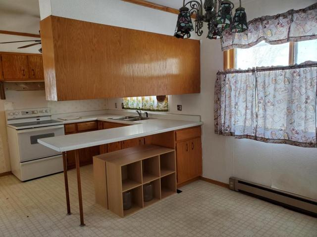 Kitchen featured at 120 Frank St W, Goodrich, ND 58444
