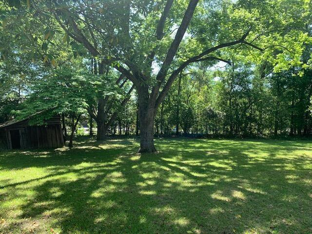 Yard featured at 637 Carthage St, Cameron, NC 28326