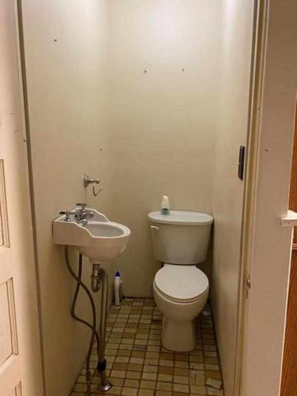 Bathroom featured at 310 Innis St, Oil City, PA 16301