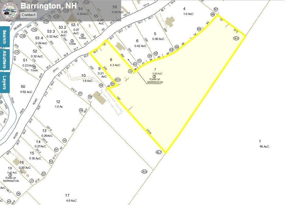 Barrington Nh Tax Maps