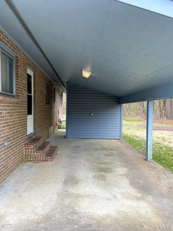 Porch featured at 115 Cherry St, Woodland, NC 27897
