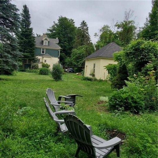 Yard featured at 6137 Wright St, Wolcott, NY 14590