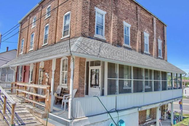 Porch featured at 164 Main St, Paxinos, PA 17860