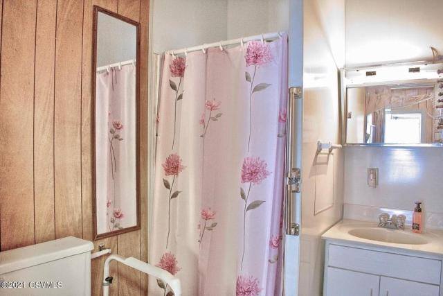 Bathroom featured at 164 Main St, Paxinos, PA 17860
