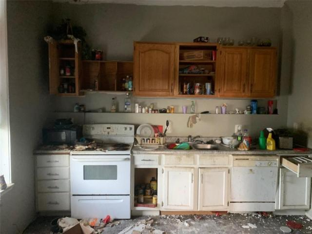 Kitchen featured at 220 N 3rd St, Belleville, IL 62220