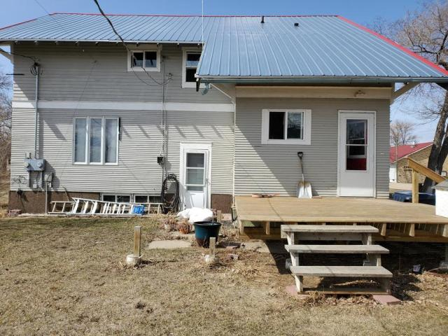 Porch yard featured at 301 McKinley Ave, Goodrich, ND 58444