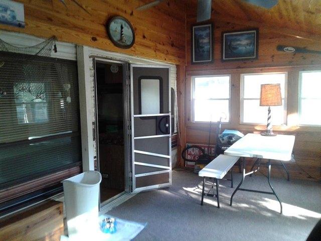 Garage featured at 730 Boardman Dr, Bracey, VA 23919