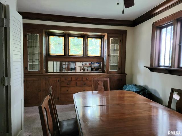 Dining room featured at 1217 N Bourland Ave, Peoria, IL 61606