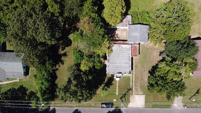 Road view featured at 1008 and 1100 Gibson St, Ozark, AR 72949