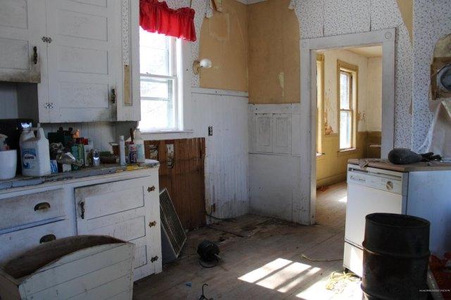 Kitchen featured at 23 Wilder St, Washburn, ME 04786