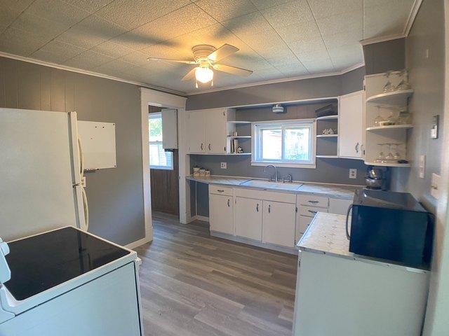 Kitchen featured at 509 W Church St, Logan, KS 67646