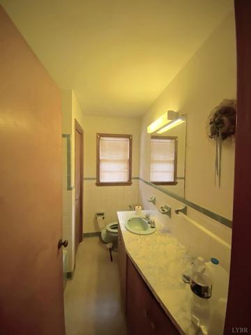 Bathroom featured at 1099 Dudley Rd, Halifax, VA 24558