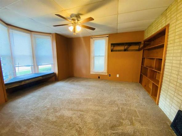 Bedroom featured at 611 Crawford St, Clay Center, KS 67432