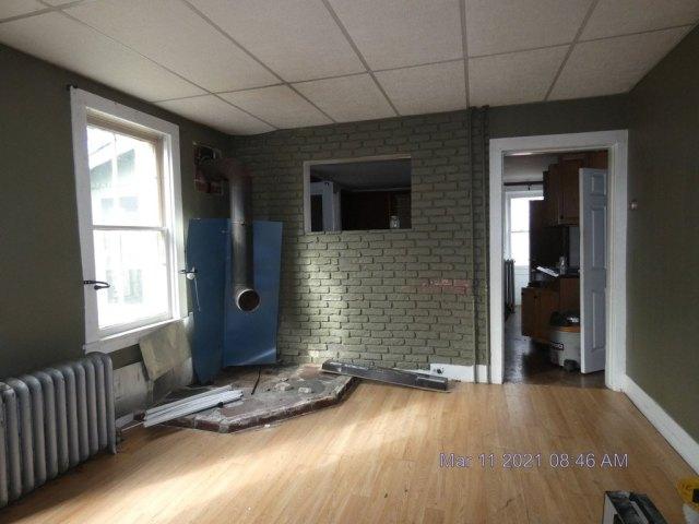 Porch featured at 222 School St, Bennington, VT 05201