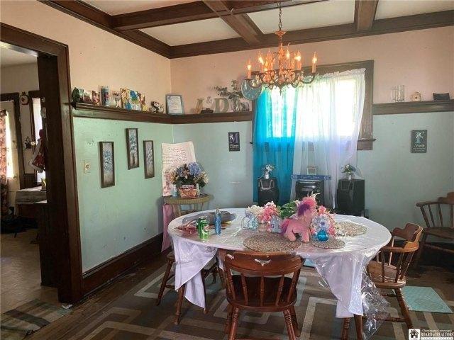 Dining room featured at 351 Van Buren St, Jamestown, NY 14701
