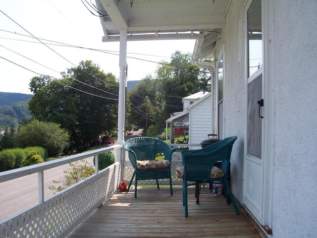 Porch featured at 625 Thornton Ave, Clifton Forge, VA 24422