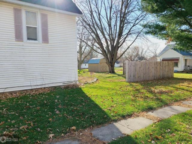 Yard featured at 227 N Main St, Conrad, IA 50621