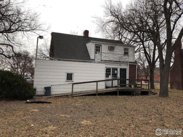 Porch yard featured at 310 W 6th St, Julesburg, CO 80737