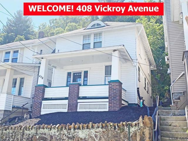 Porch featured at 408 Vickroy Ave, Johnstown, PA 15905