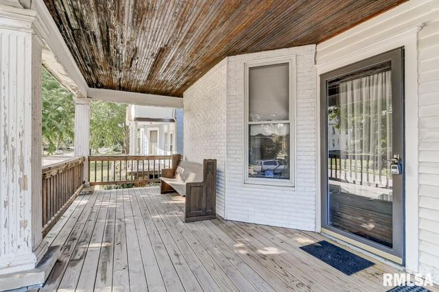 Porch featured at 809 S 4th St, Springfield, IL 62703