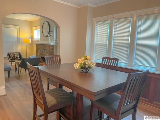 Dining room featured at 138 McKinley Ave, Jamestown, NY 14701