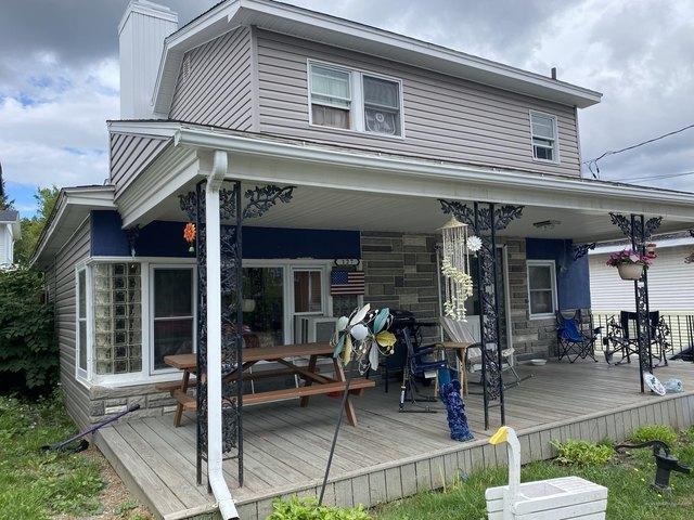 Porch featured at 127 6th Ave, Madawaska, ME 04756