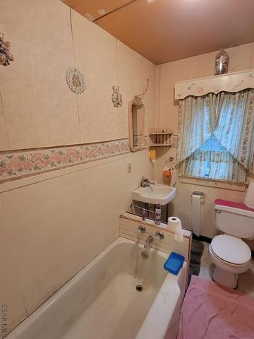 Bathroom featured at 413 Prosser St, Johnstown, PA 15901