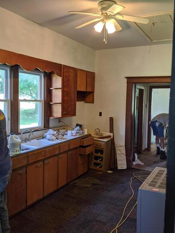 Kitchen featured at 229 Main St, Prairie Home, MO 65068