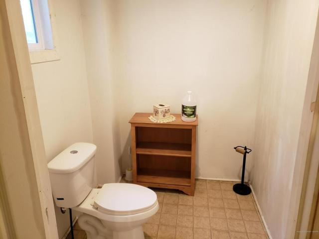 Bathroom featured at 42 Central St, Randolph, ME 04346