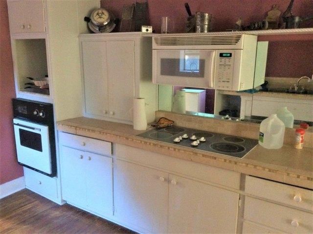 Kitchen featured at 106 Washington St N, Fort Gaines, GA 39851