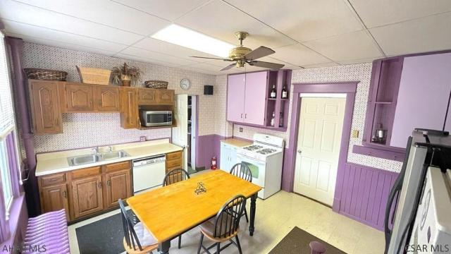 Kitchen featured at 182 Gilbert St, Johnstown, PA 15906