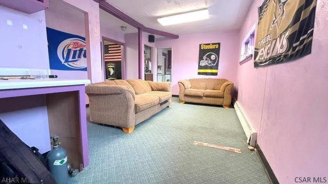 Living room featured at 182 Gilbert St, Johnstown, PA 15906