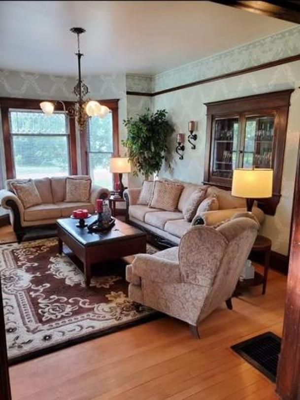 Living room featured at 211 N Rodehaver St, Oberlin, KS 67749