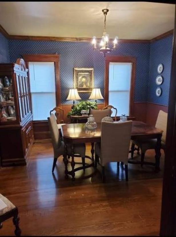 Dining room featured at 211 N Rodehaver St, Oberlin, KS 67749