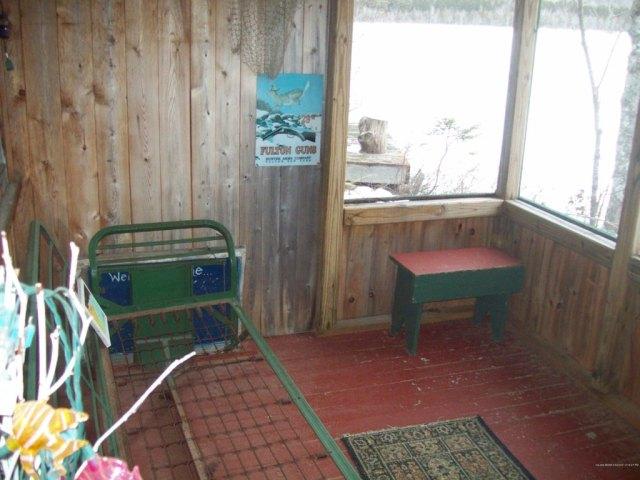 Porch yard featured at Shady Ln, Burlington, ME 04417