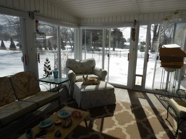 Living room featured at 122 Disque Dr, Seneca, PA 16346