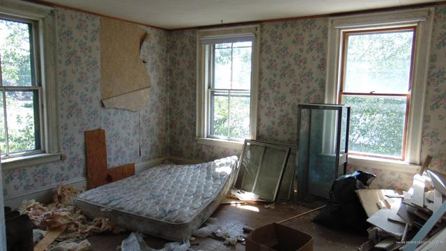 Bedroom featured at 23 Sewell St, Island Falls, ME 04747