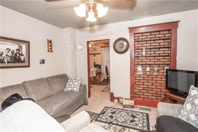 Living room featured at 3967 Stiffler Hill Rd, Cherry Tree, PA 15724