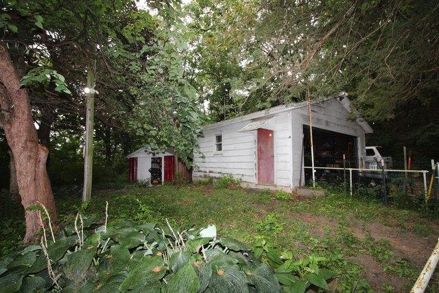 Yard featured at 232 Clay St, Savanna, IL 61074