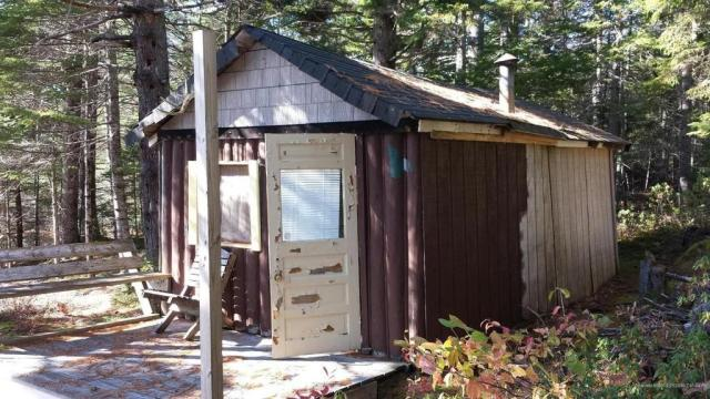 Garage featured at Marks Lake Rd, Marshfield, ME 04654