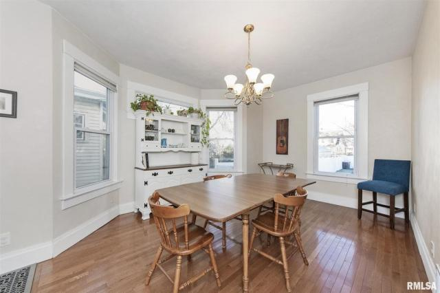 Dining room featured at 1219 N Garfield Ave, Peoria, IL 61606