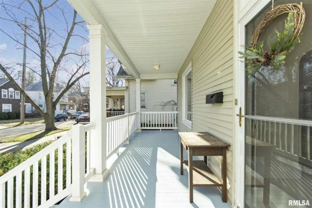 Porch featured at 1219 N Garfield Ave, Peoria, IL 61606