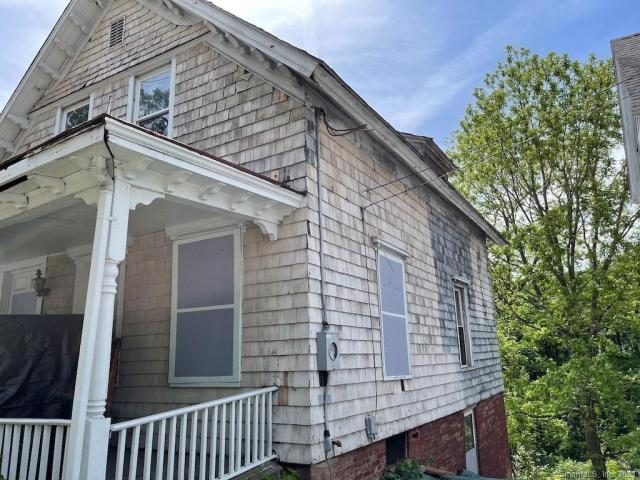 Porch featured at 217 Laurel Hill Ave, Norwich, CT 06360
