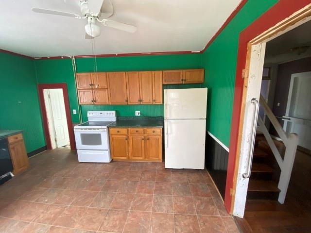 Kitchen featured at 655 N Main St, Chase City, VA 23924