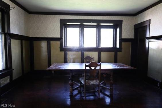 Dining room featured at 1654 Cleveland Ave NW, Canton, OH 44703