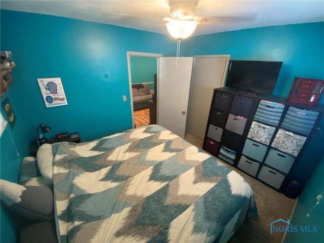 Bedroom featured at 205 Milford St, Toledo, OH 43605