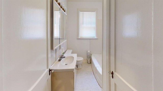Bathroom featured at 516 Phillips St, Dyersburg, TN 38024