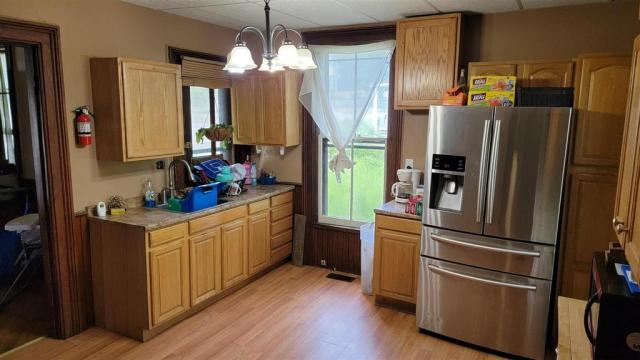 Kitchen featured at 29 Reid St, Fort Plain, NY 13339