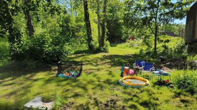 Yard featured at 29 Reid St, Fort Plain, NY 13339