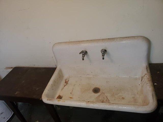 Bathroom featured at 6879 Hwy G, Gillett, WI 54124